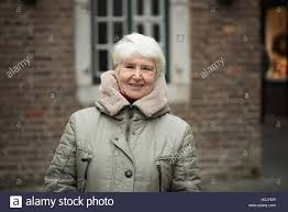 elderly woman clothes elderly woman wearing winter clothes stock photo 122733235 alamy