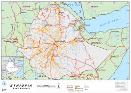 Ethiopia World Map by 2 3 Ethiopia Road Network Logistics Capacity Assessment Wiki