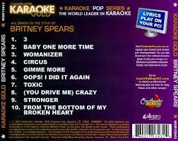karaoke gold in the style of karaoke songs
