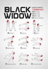 black widow workout sweat pinterest black widow workout and