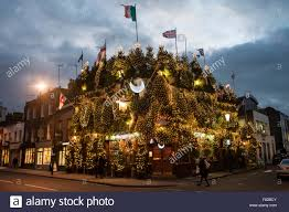 london uk 4 december 2015 the annual christmas lights on the