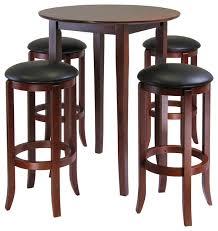 high table with bar stools 38 bar table stool set 3 piece black finish table saddle bar stool
