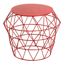 red metal drum stool outdoor the new modern back up board