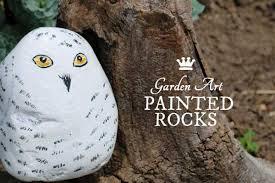 diy garden art painted rocks empress of dirt