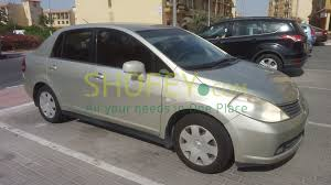 nissan tiida 2008 price lady driven low kms red nissan tiida شوفي shofey