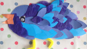 how to make a paper bird art and craft project for kids youtube