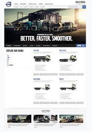 volvo trucks website volvo trucks dylan jones digital creative director