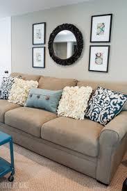 a big basement living room makeover