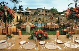 Jewelry Designer Michael Beaudrys Regal Montecito Wedding - Italian backyard design
