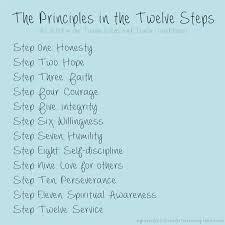 Aa Step 10 Worksheet The Principles In The Twelve Steps Aa Oa Na Sa Fa Recovery