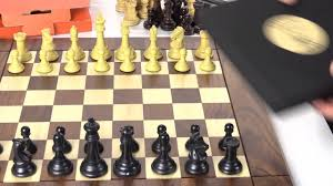 Wooden Chess Set by Wooden Chess Boards Drueke History And Jlp Line Youtube