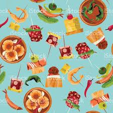cuisine traditionnelle espagnole la cuisine traditionnelle espagnole sélection de tapas motif de