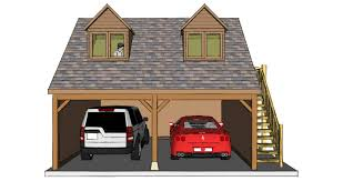 two bay garage with room above the stable company