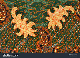 Beautiful Art Pictures by Beautiful Art Malaysian Indonesian Batik Pattern Stock Photo