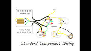 les paul wiring diagram les wiring diagrams instruction