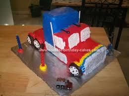 transformer birthday cakes coolest 18 wheeler transformers birthday cake
