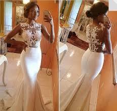 white lace prom dress lace mermaid prom dress mermaid prom dress white prom dress