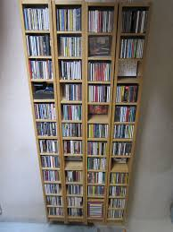 Dvd Rack Ikea by 4 X Ikea Gnedby Cd Dvd Shelving Units Oak Veneer Variable