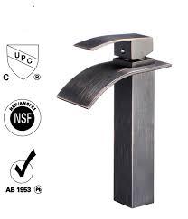 bathroom waterfall faucet skyshop usa lower price guarantee