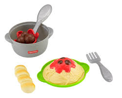Fisher Price Servin Surprises Kitchen Table by Amazon Com Fisher Price Pasta Meal Toys U0026 Games