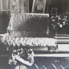 1920s Living Room by Macabre 1920 U0027s Living Room Funeral Casket Snapshot Photo