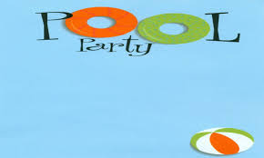 pool party invitations free pool party swimming party clipart free images 4 wikiclipart