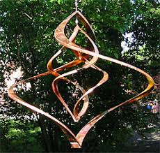 harmony hollow bells copper wind spinners