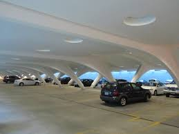 a much larger public garage can be entered from vignes street