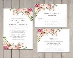 free wedding invitations templates for word invite templates word