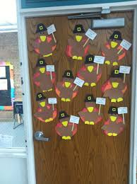 thanksgiving door ideas falling into first november 2012