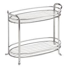 Furniture For Bathroom Storage Amazon Com Interdesign Axis Free Standing Bathroom Vanity Storage