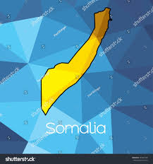 Map Of Somalia Map Country Somalia Stock Vector 391061548 Shutterstock