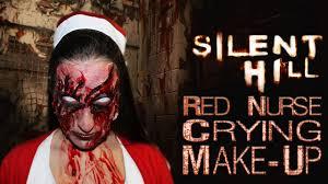Silent Hill Nurse Halloween Costume Halloween 2015 Infermiera Silent Hill Red Nurse Crying