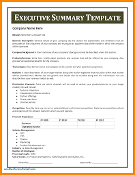 executive resume pdf template business report template executive summary unique