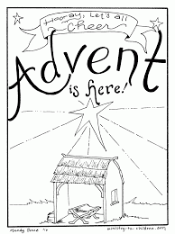 advent coloring pages free printable best of creativemove me