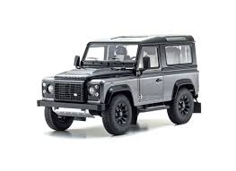 white land rover defender kyosho 1 18 land rover defender diecast model car 08901cgr