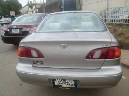 year of toyota corolla toyota corolla 2000 model n870k autos nigeria