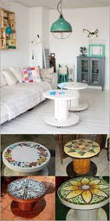 5 ideas turned old cable reels into these stunning pieces of furniture