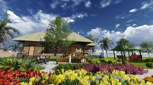 Bahay Kubo Design by Bahay Kubo With Front Yard Garden Youtube