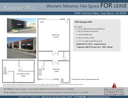 eastgate mall floor plan pacific coast commercial 5264 5278 eastgate mall showroom san