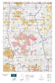 Wy Map Wyoming Antelope Gmu 18 Map Mytopo