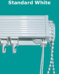 Vertical Blind Head Rail Slimline White Vertical Blinds Headrail
