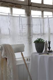 Linen Cafe Curtains 33 Best Cafe Curtains Images On Pinterest Bathroom Bathrooms