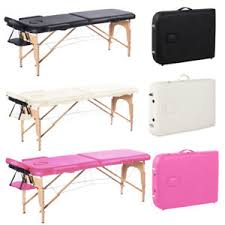 massage table carry bag wooden folding beauty massage table tattoo therapy couch bed