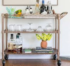 diy bar carts that require little more than spray paint easy
