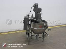 used kettle equipment u2014 steam tilting lee kettles for sale