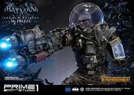 prime 1 studio batman arkham origins u2013 mr freeze statue toy