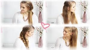 Einfache Frisuren Lange Glatte Haare by 12 Schnelle Frisuren Für Lange Haare Neuesten Und Besten Coole