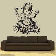 Buddha Home Decor Aliexpress Com Buy Buddha Dance Indian Hinduism Wall Sticker