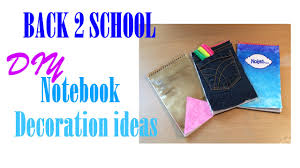 3 diy notebook cover ideas decorations youtube
